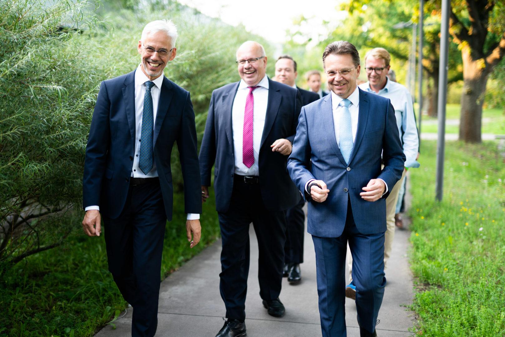 "Minister Altmaier besucht ""Mit uns digital!"""